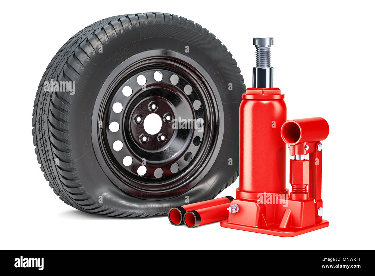 Blown Tyre Stock Photos & Blown Tyre Stock Images - Alamy