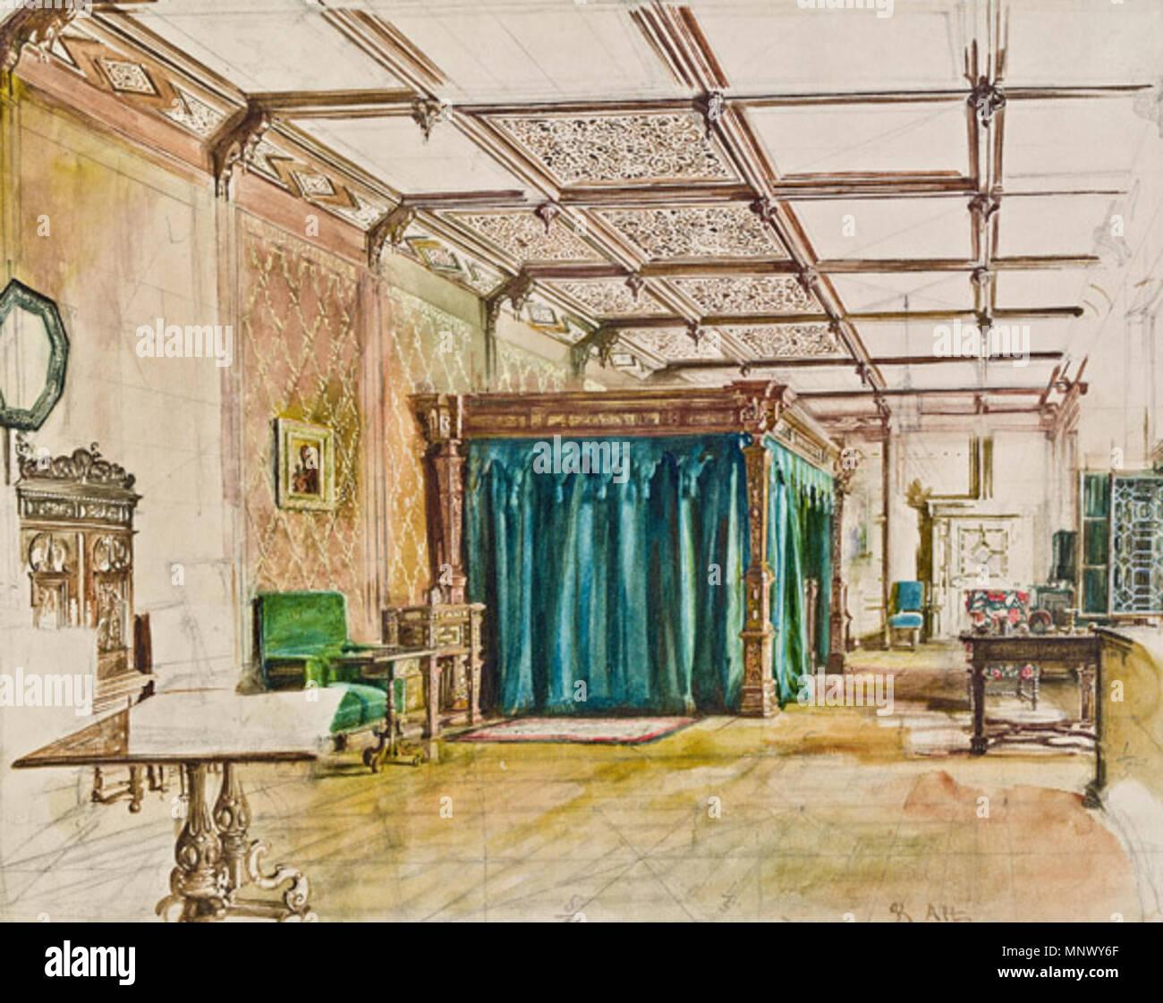 https://c8.alamy.com/comp/MNWY6F/interieur-aus-schloss-hradek-circa-1855-rudolf-von-alt-18121905-alternative-names-rudolf-ritter-von-alt-description-austrian-painter-date-of-birthdeath-28-august-1812-12-march-1905-location-of-birthdeath-vienna-vienna-work-location-vienna-salzkammergut-bohemia-italy-authority-control-q638183-viaf71399810-isni0000-0000-6633-2869-ulan500015145-lccnn85058798-nla35968387-worldcat-1077-rudolf-von-alt-interieur-aus-schloss-hradek-MNWY6F.jpg