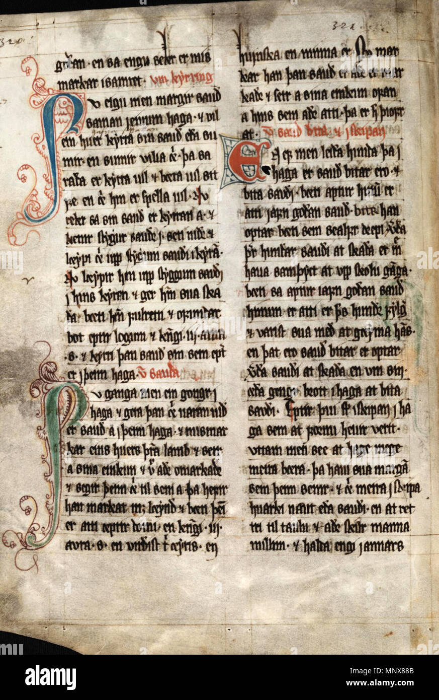 The Sheep Letter for the Faroe Islands of 24 June 1298, in the 'Book of  Lund'. 24 June 1298. Unknown 1114 Sheep Letter, p 3