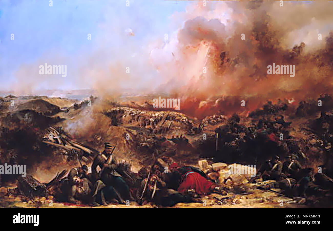 The Battle of Sebastopol  after 1856  Jean-Charles Langlois