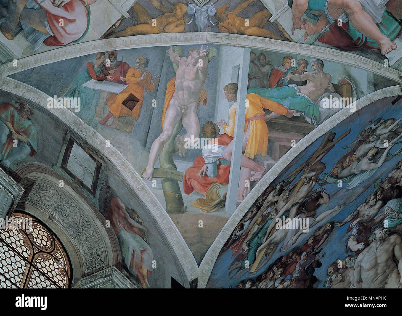 English Sistine Chapel Ceiling Between 1508 And 1512