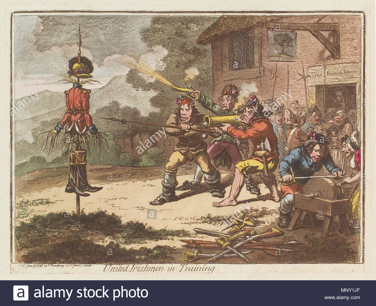 united irishmen Inspired by the french revolution, and with great admiration for the new democracy of the united states, the united irishmen were led by theobald wolfe tone, thomas russell, henry joy mccracken and william drennan.