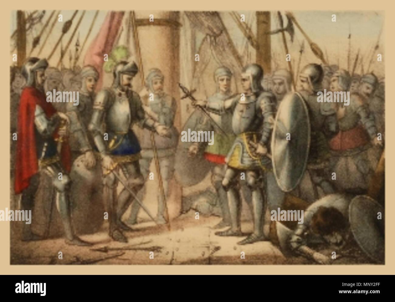 King Alfonso V Of Aragon Stock...