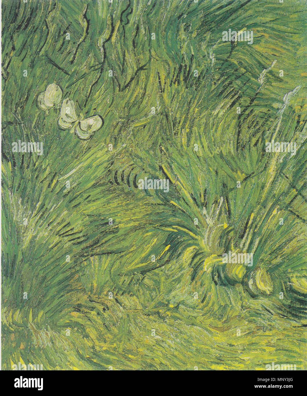 1222 Van Gogh - Zwei weiße Schmetterlinge - Stock Image