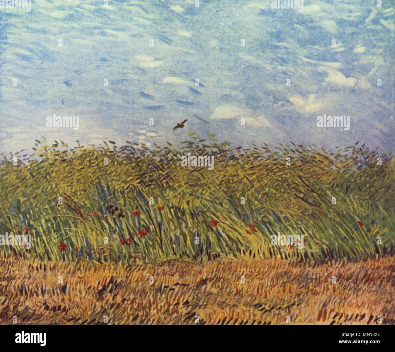 Deutsch Getreidefeld Mit Mohnblumen Und Lerche English Wheat Field With Poppies And Lark Paris Summer 1887 1224 Vincent Willem Van Gogh 048 Stock Photo Alamy