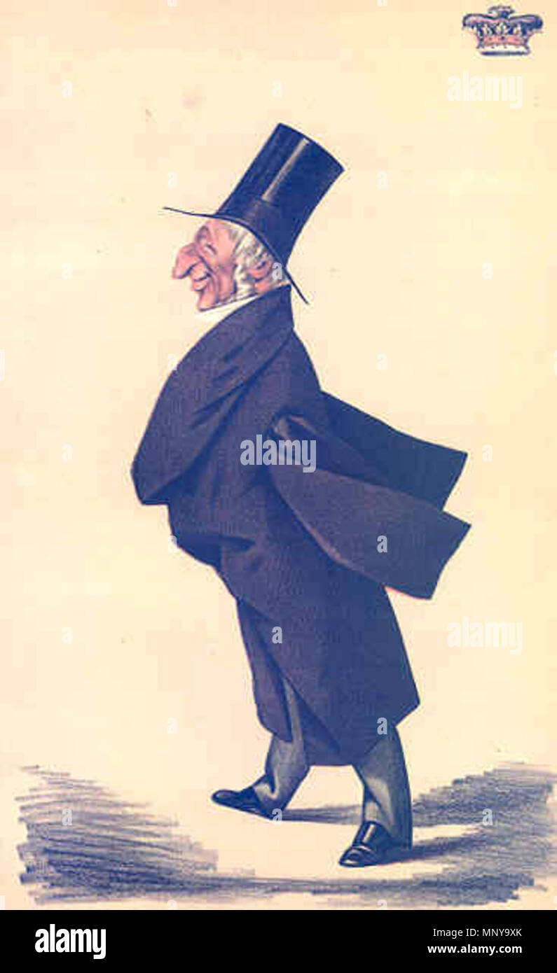 . Caricature of Sir Arthur Wellesley KG PC MP, 2nd Duke of Wellington. Caption read 'The son of Waterloo'. 1872.   Adriano Cecioni (1836–1886)   Description Italian artist, caricaturist and sculptor  Date of birth/death 26 July 1836 23 May 1886  Location of birth/death Vaglia Florence  Work location Italy, United Kingdom  Authority control  : Q2250712 VIAF:77235641 ISNI:0000 0000 6630 3187 ULAN:500030974 LCCN:nr90012222 GND:12395861X WorldCat 1255 Arthur Wellesley Vanity Fair 22 June 1872 - Stock Image