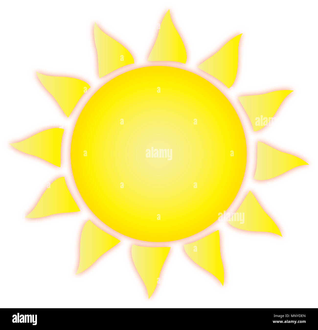 Summer Sun - Stock Image