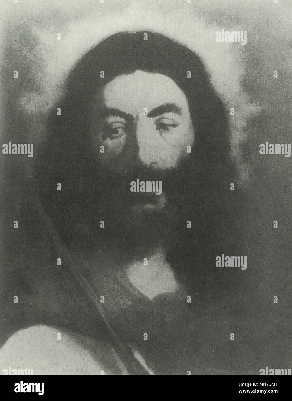 1288 Édouard Manet - Christ au rosseau (RW 13) - Stock Image