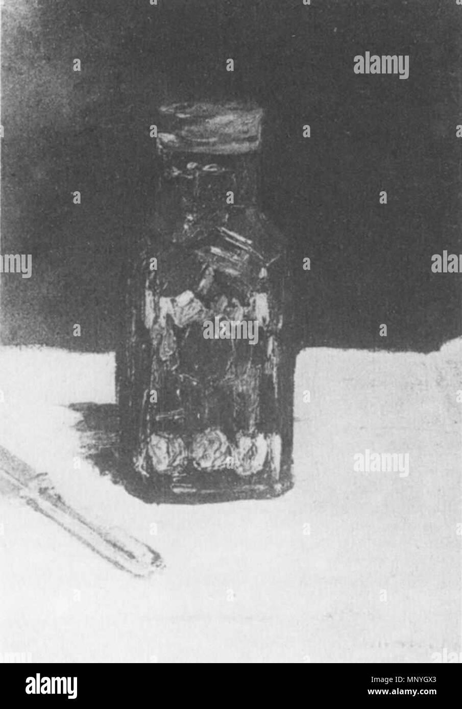 1289 Édouard Manet - Nature morte, bocal de condiments (RW 350) - Stock Image