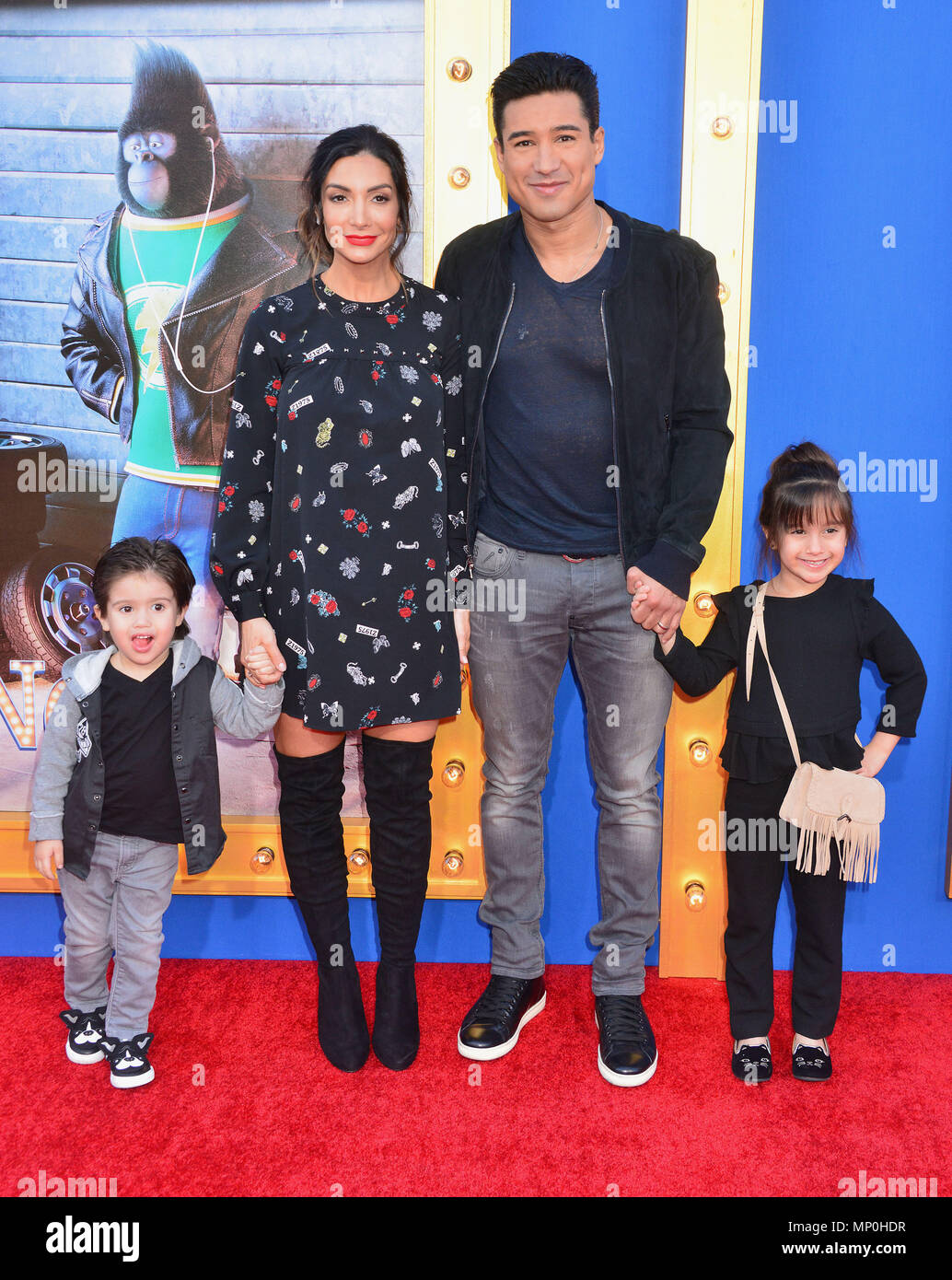 Mario Lopez And Family High Resolution Stock Photography And