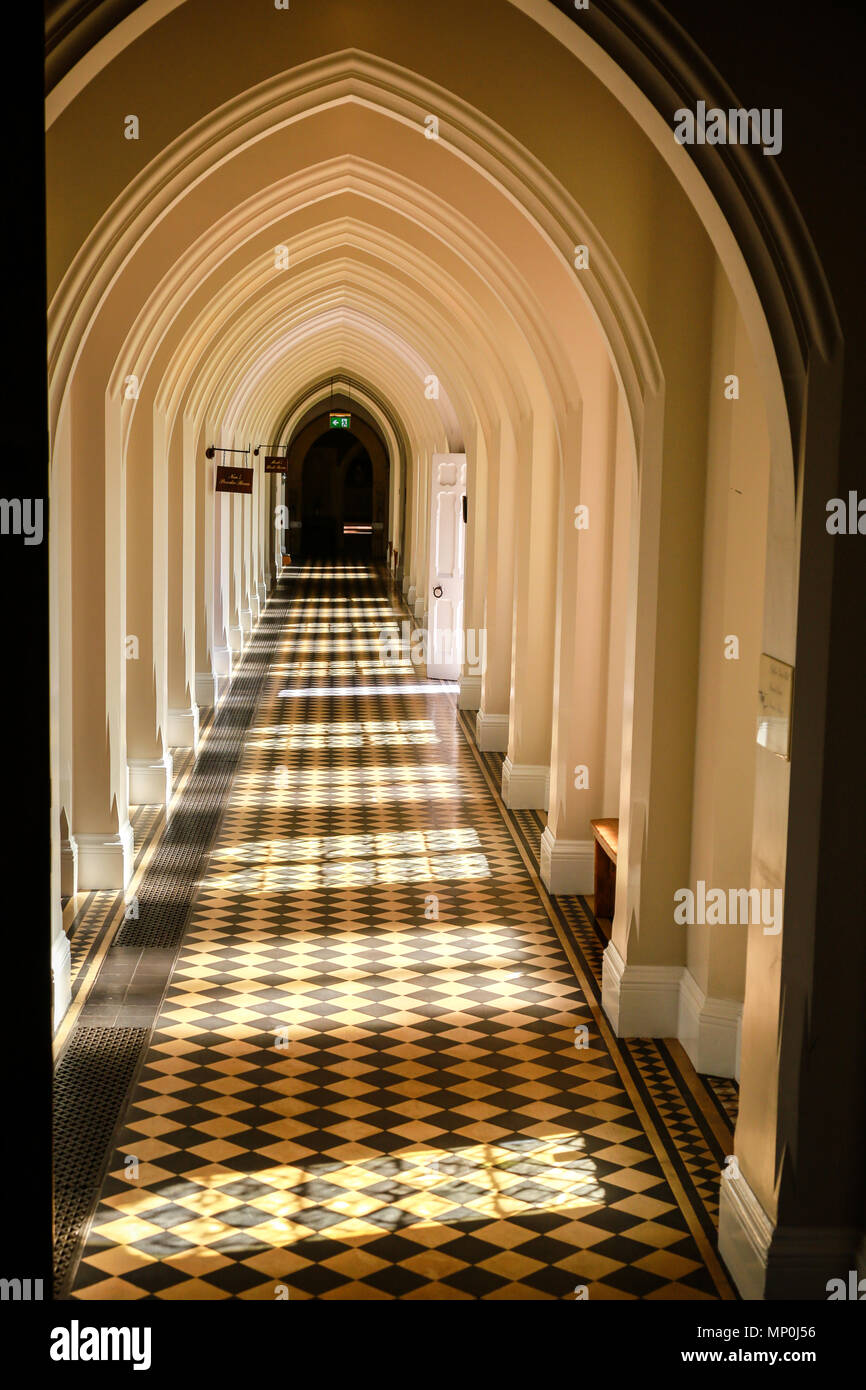 Stanbrook Abbey Hotel near Worcester - Stock Image