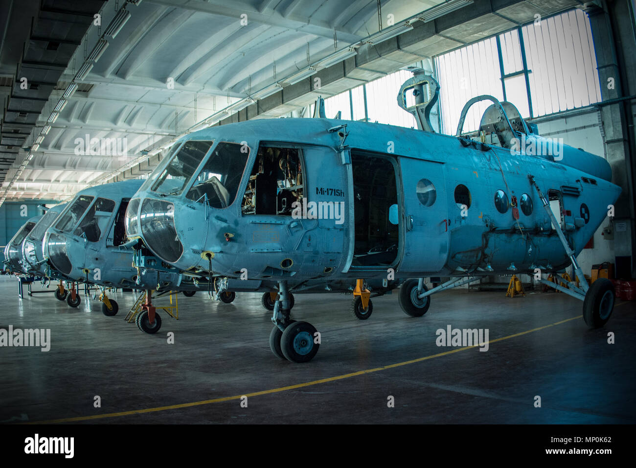 Helicopter Mi-171Sh - Stock Image