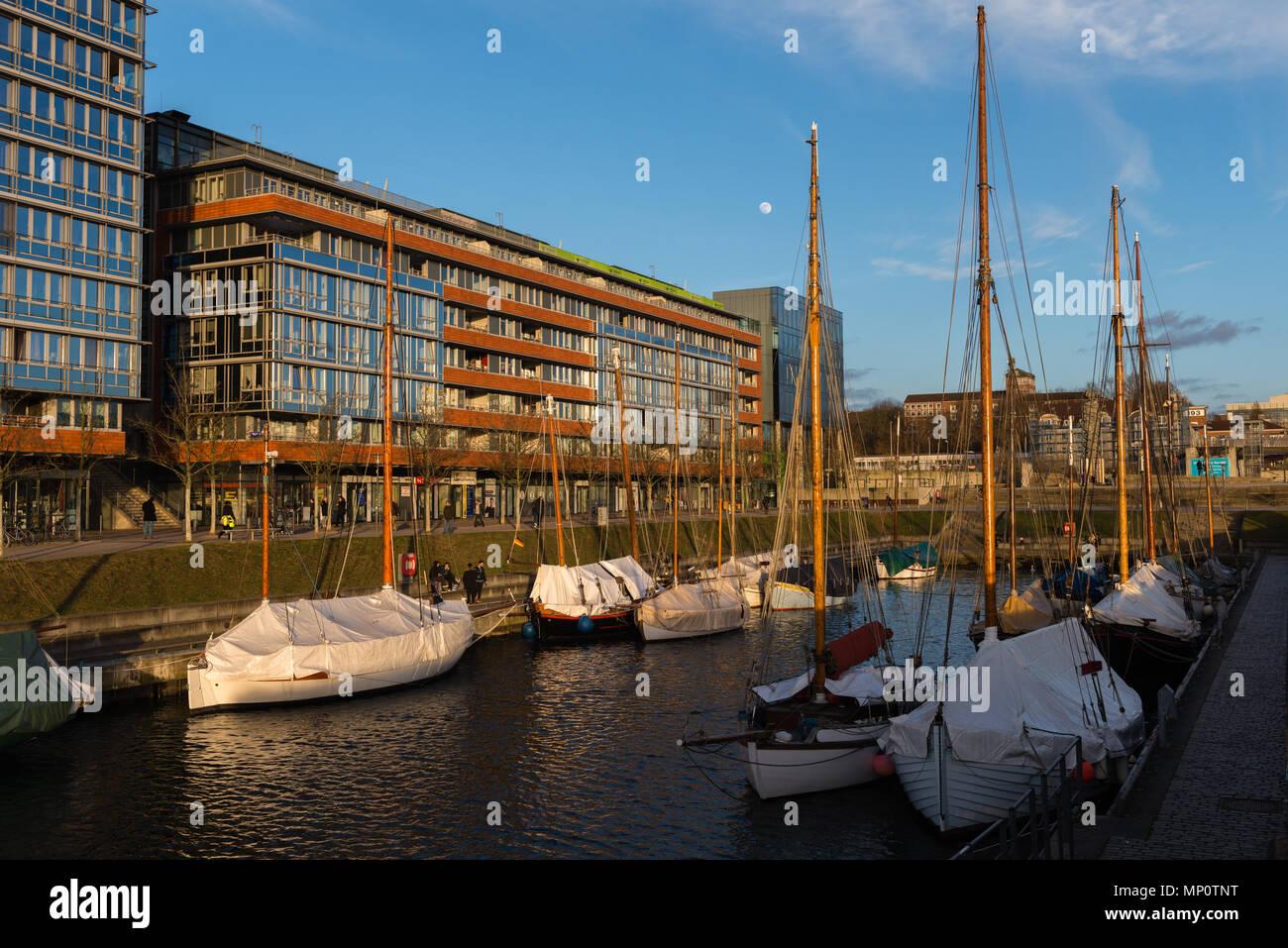 Hoern Campus am Ende der Kieler Foerde,  Kiel - Stock Image