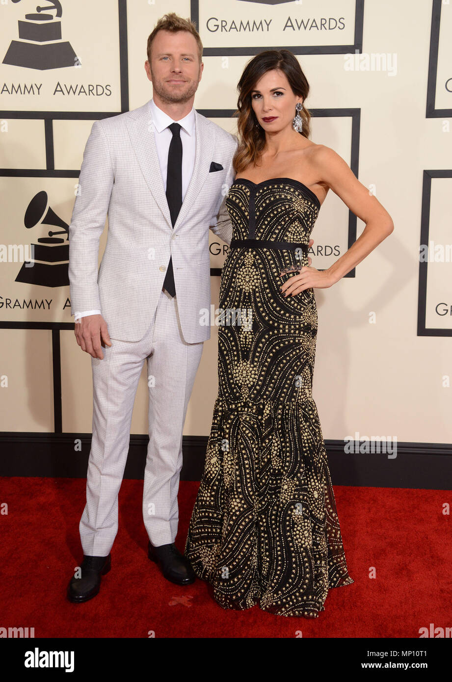 Cassidy Black Bentley Dierks Bentley 438 At The 57th Annual Grammy