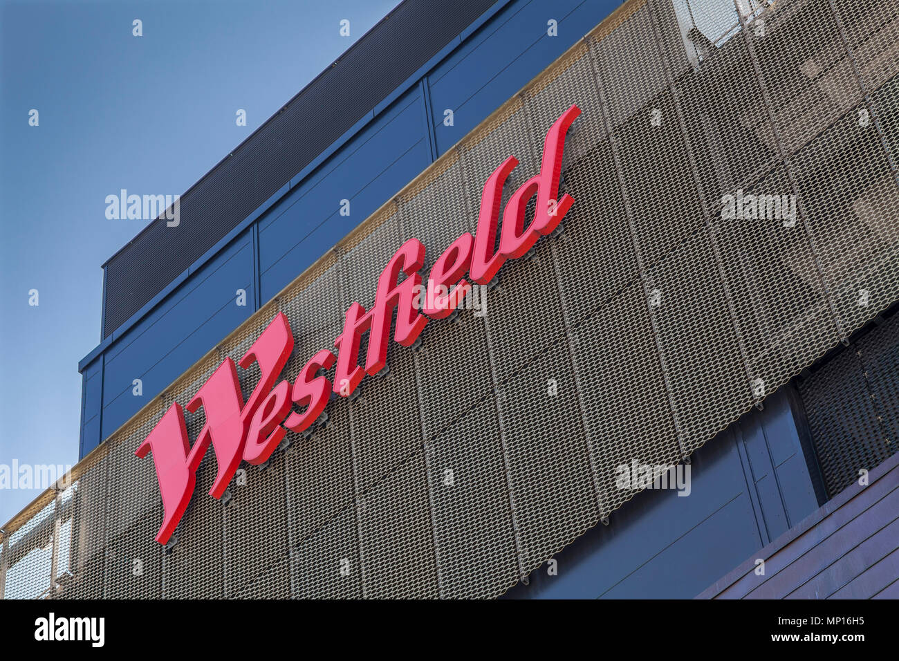 Westfield shopping centre at Stratford, London Stock Photo