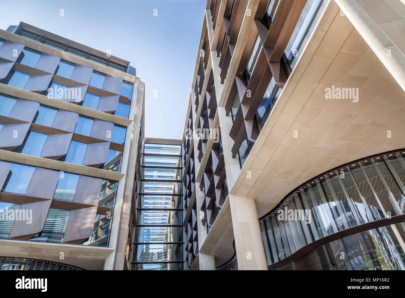 Bloomberg new London headquarters. - Stock Image
