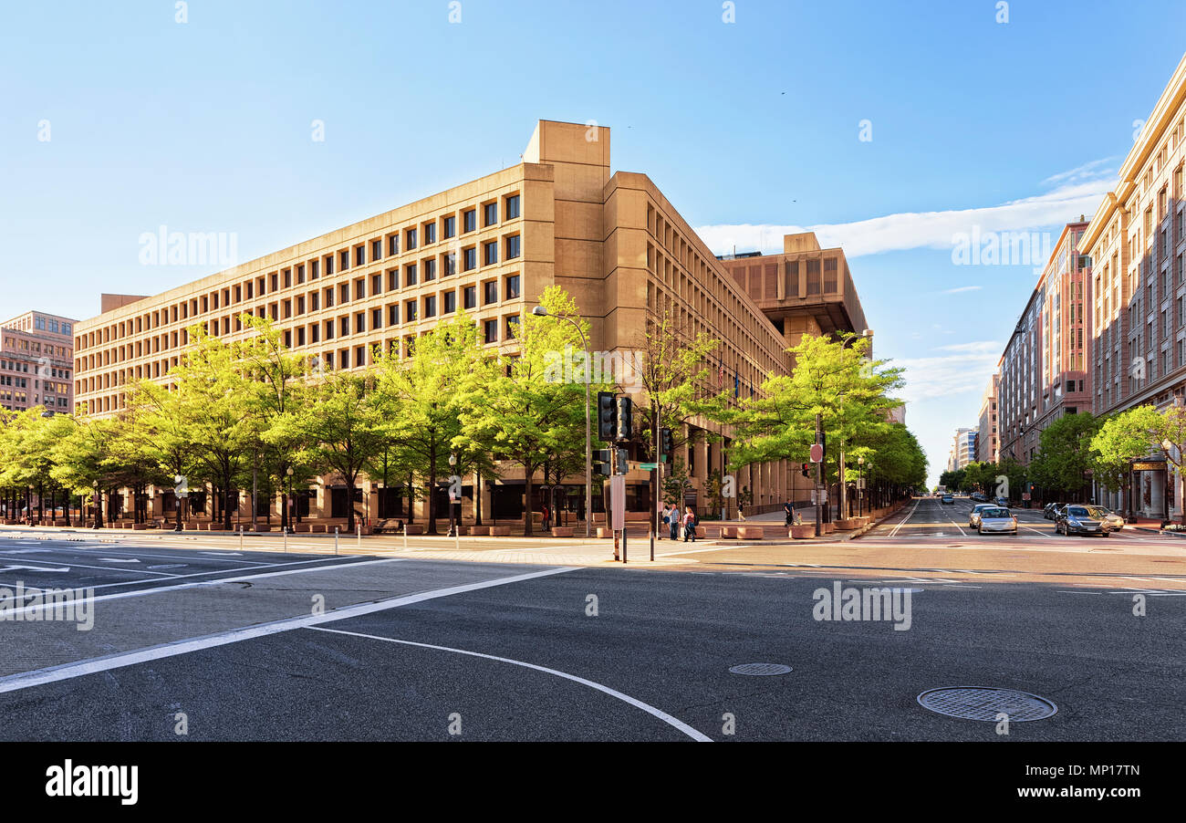 J edgar hoover building located in washington dc usa it is main