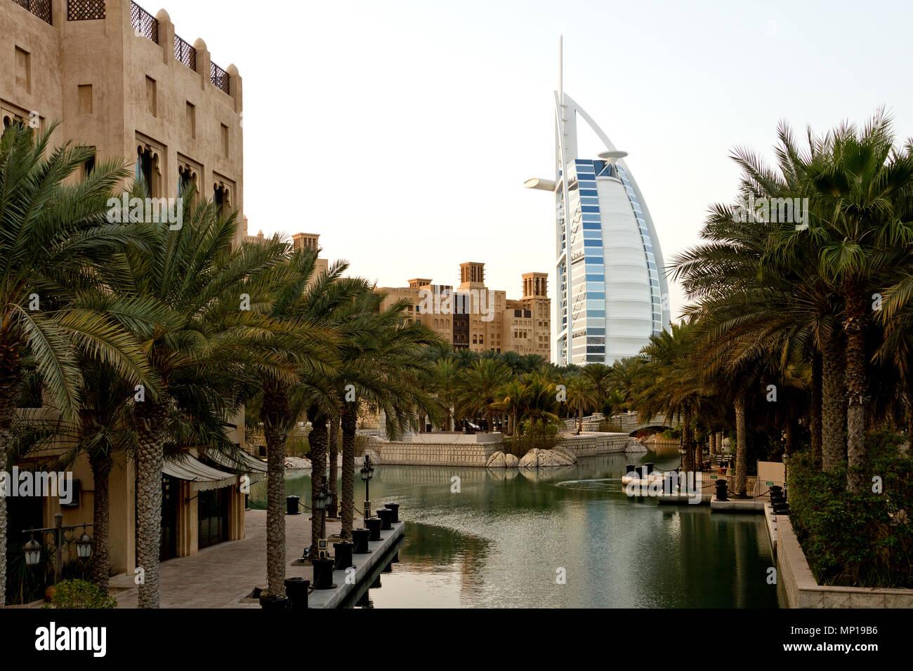 Dubai - Burj al Arab. - Stock Image