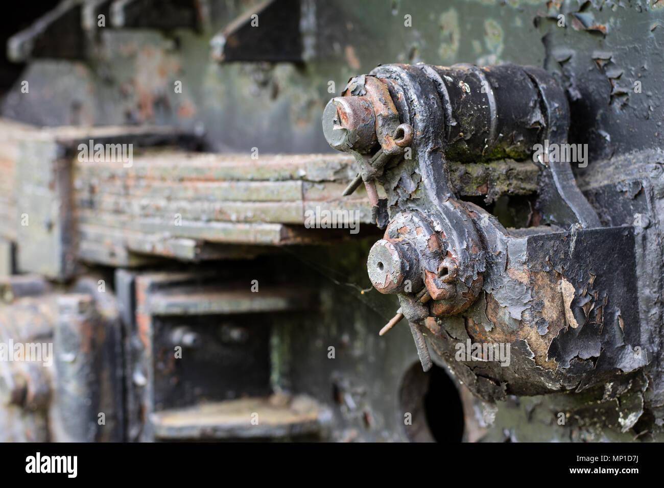 Leaf Spring Suspension Stock Photos Amp Leaf Spring