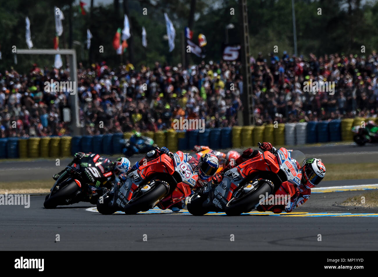 Le Mans Bugatti Grand Prix Race Circuit Stock Photos Le Mans