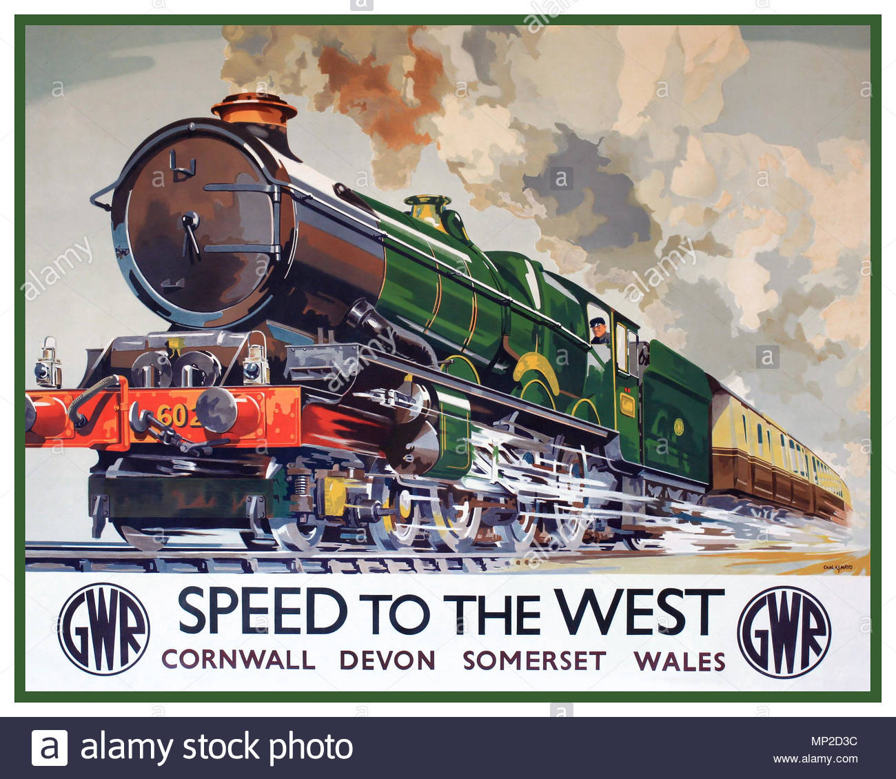 Newquay British Railway Old Vintage Retro Travel Advert Picture Poster