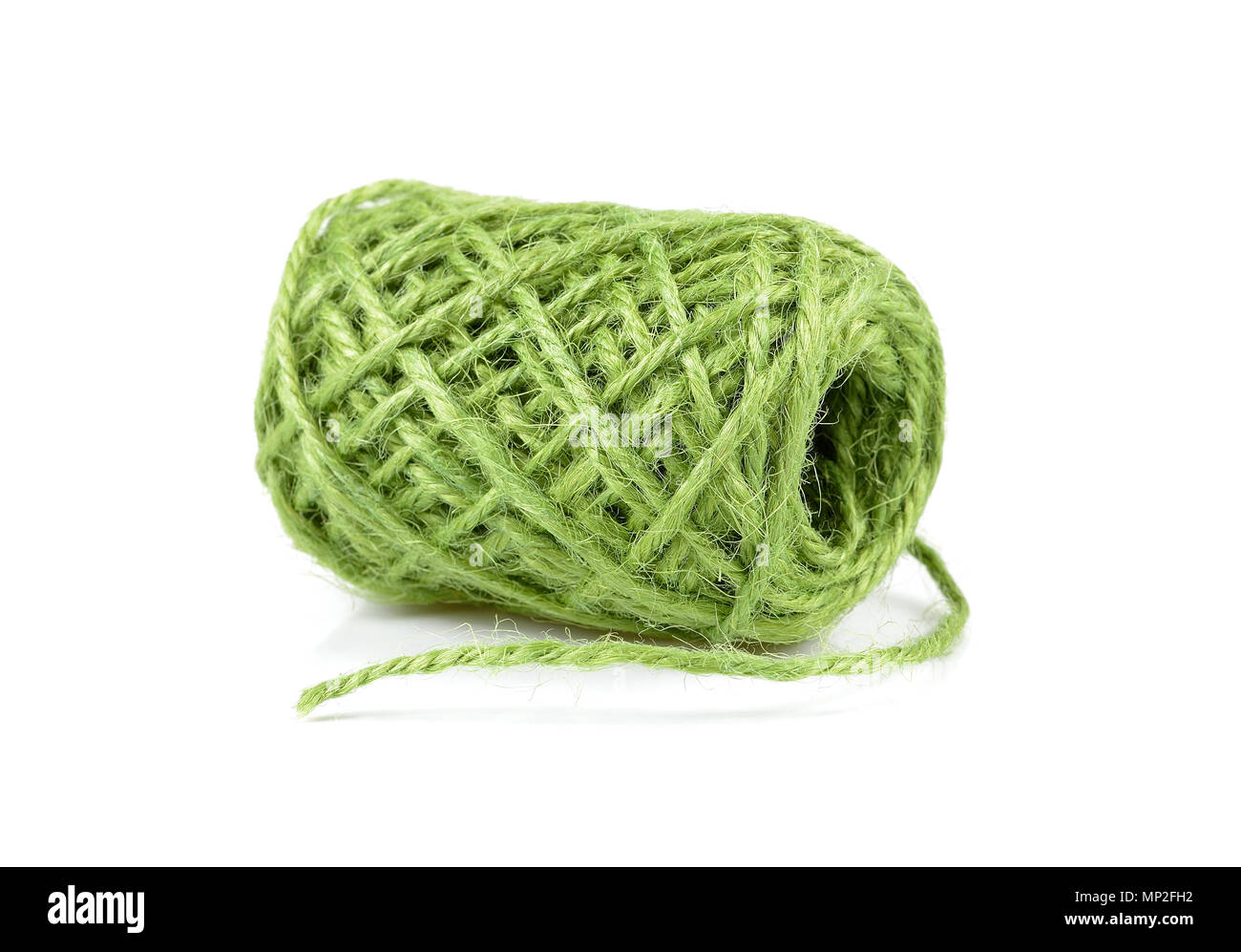 Green Sisal Yarn Stock Photos & Green Sisal Yarn Stock