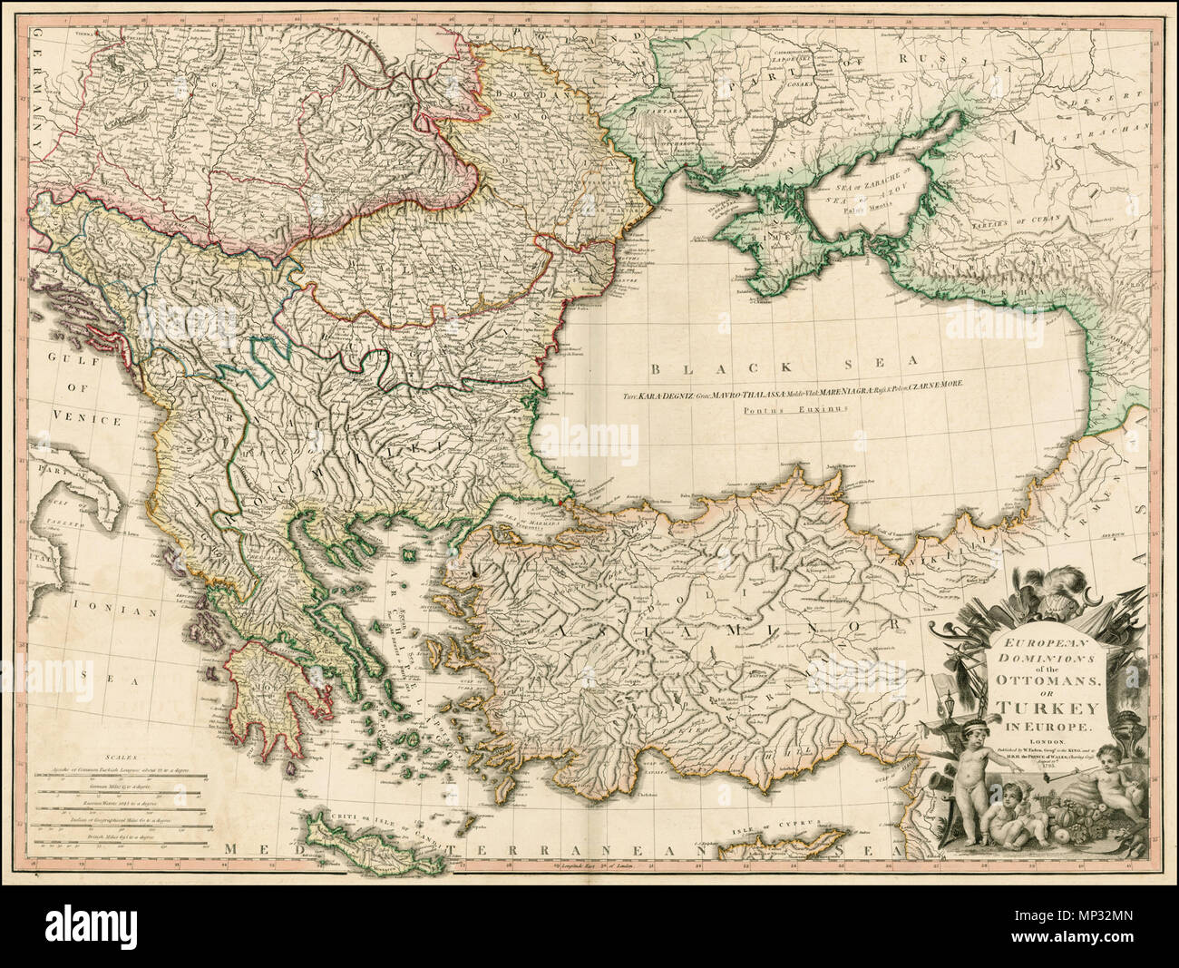English european dominions of the ottomans or turkey in europe english european dominions of the ottomans or turkey in europe 1795 large detailed faden map of the region bounded by the greece and the ionian sea publicscrutiny Image collections