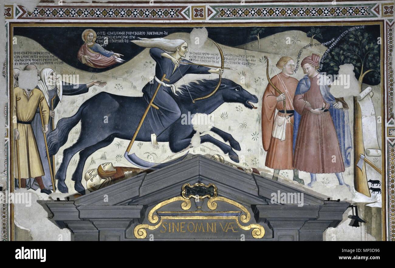 0744 010   English: This 14th-century Triumph of Death