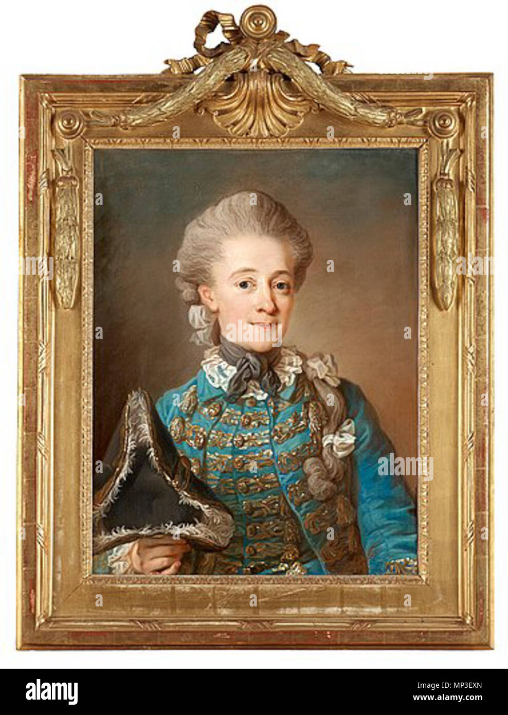 . Baroness Ulrica Cedercreutz 1730-84 . 1770-talet.    Gustaf Lundberg  (1695–1786)     Alternative names Lundberg; Gustav Lundberg  Description Swedish portrait painter and pastellist  Date of birth/death 17 August 1695 18 March 1786  Location of birth/death Stockholm Stockholm  Work period from 1720s until 1770s  Work location Paris, Stockholm  Authority control  : Q838499 VIAF: 25745822 ISNI: 0000 0000 6686 454X ULAN: 500027182 LCCN: n2006086273 WGA: LUNDBERG, Gustaf WorldCat 1212 Ulrica Cedercreutz - Stock Image