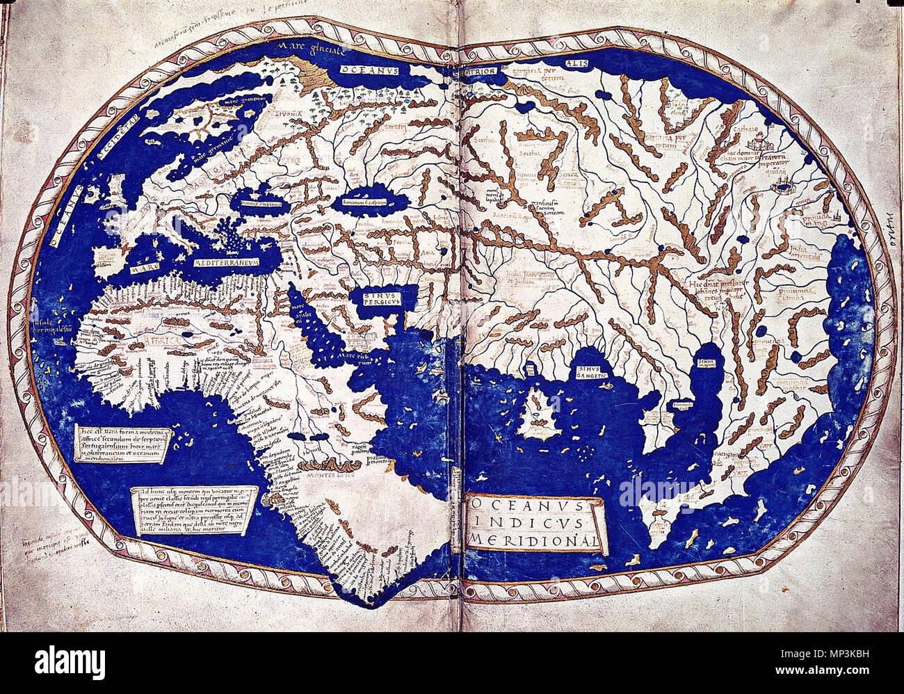 Ptolemy Map World Stock s & Ptolemy Map World Stock