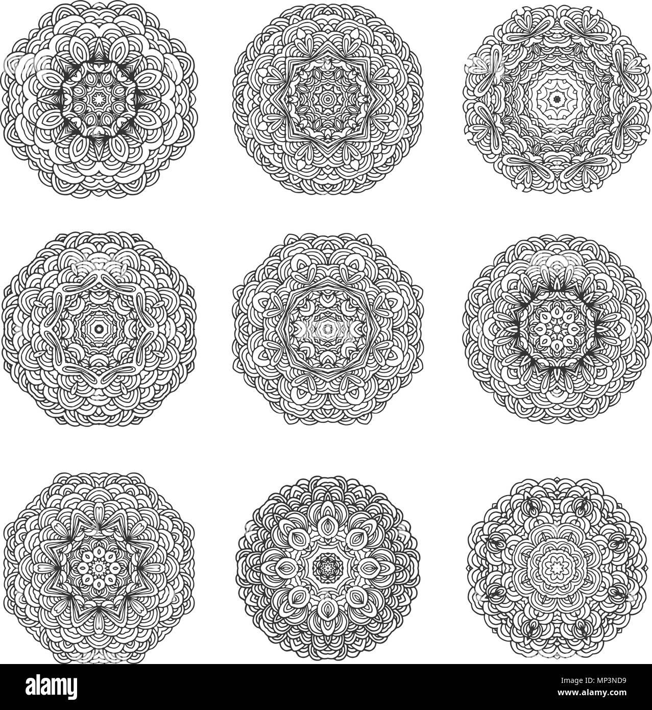 Orientalisches Muster Print Pattern Orient 1