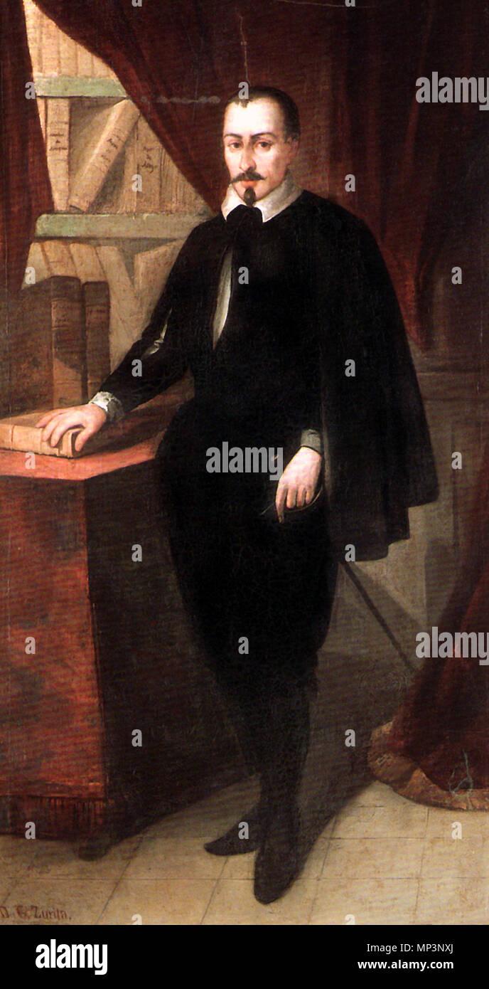 718 Jerónimo Zurita (Diputación Provincial de Zaragoza) - Stock Image