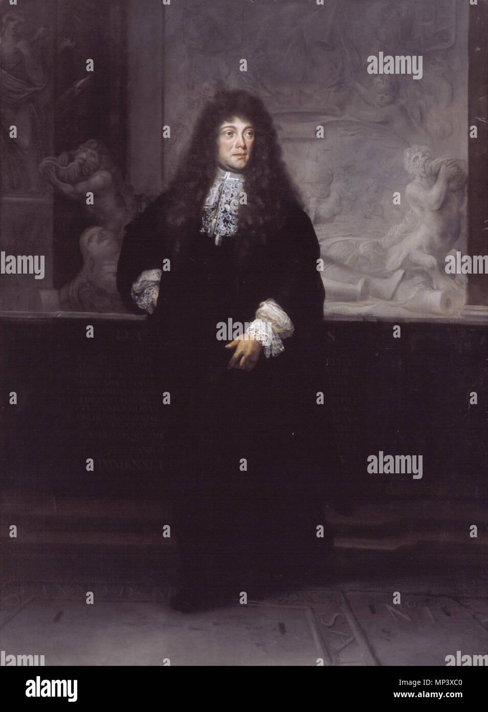 Petrus Francius 1645 1704 Oil On Canvas 215 X 156 Cm