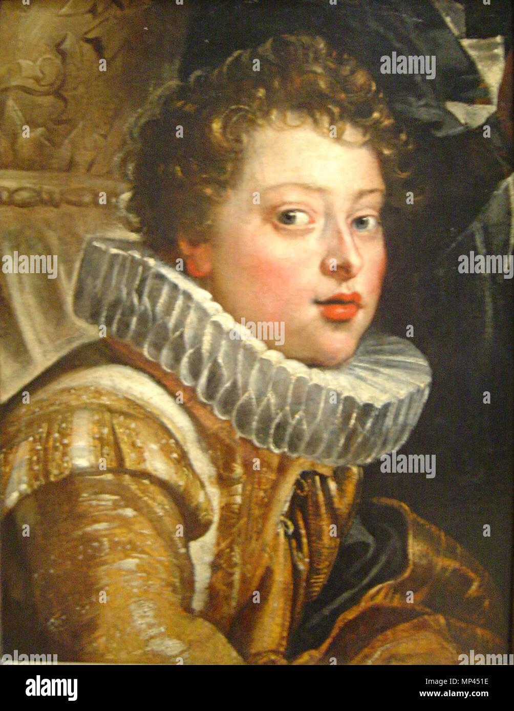 Deutsch: Vincenzo II. Gonzaga (1594-1627)    Deutsch: um 1604/1605 .   977 Peter Paul Rubens 123b Stock Photo