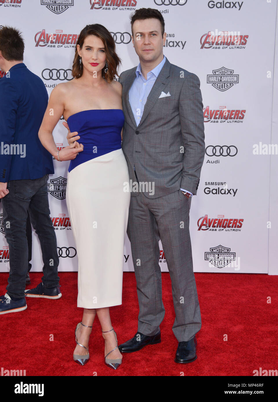 Cobie Smulders And Husband Taran Killam High Resolution Stock Photography And Images Alamy