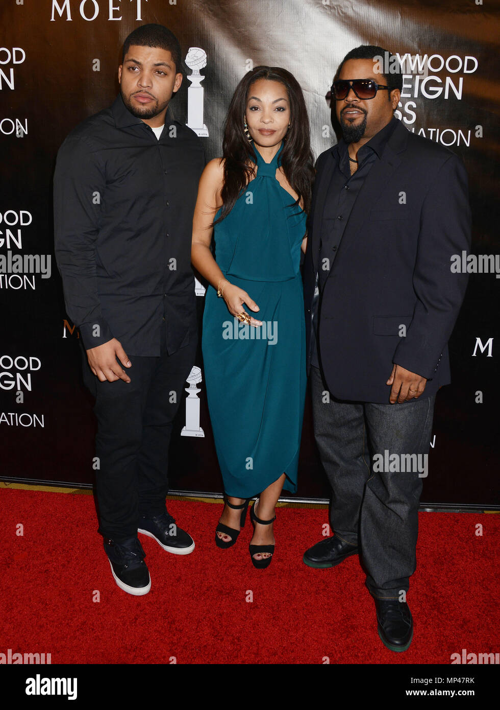 Ice Cube Son O Shea Jackson Jr 077 At The 2015 Hollywood Foreign Press Association Grants Banquet At The Beverly Wilshire Hotel In Los Angeles August 13 2015ice Cube Son O Shea Jackson Jr