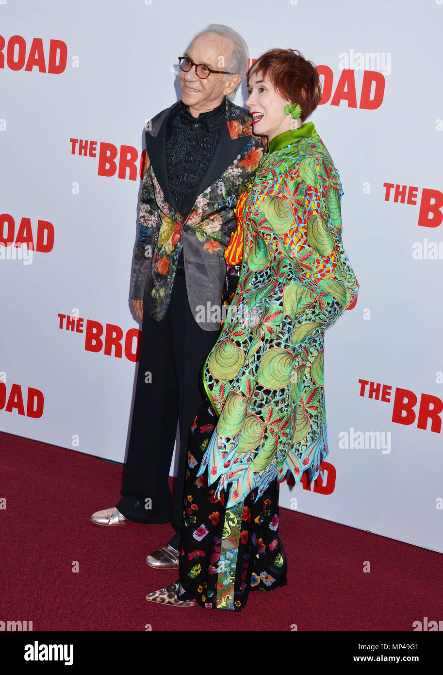 Norman Stone, Nora Stone at The Broad Museum Opening and Inaugural Dinner at the Broad Museum in Los Angeles. September 17, 2015.Norman Stone, Nora Stone ------------- Red Carpet Event, Vertical, USA, Film Industry, Celebrities,  Photography, Bestof, Arts Culture and Entertainment, Topix Celebrities fashion /  Vertical, Best of, Event in Hollywood Life - California,  Red Carpet and backstage, USA, Film Industry, Celebrities,  movie celebrities, TV celebrities, Music celebrities, Photography, Bestof, Arts Culture and Entertainment,  Topix, vertical,  family from from the year , 2015, inquiry ts - Stock Image
