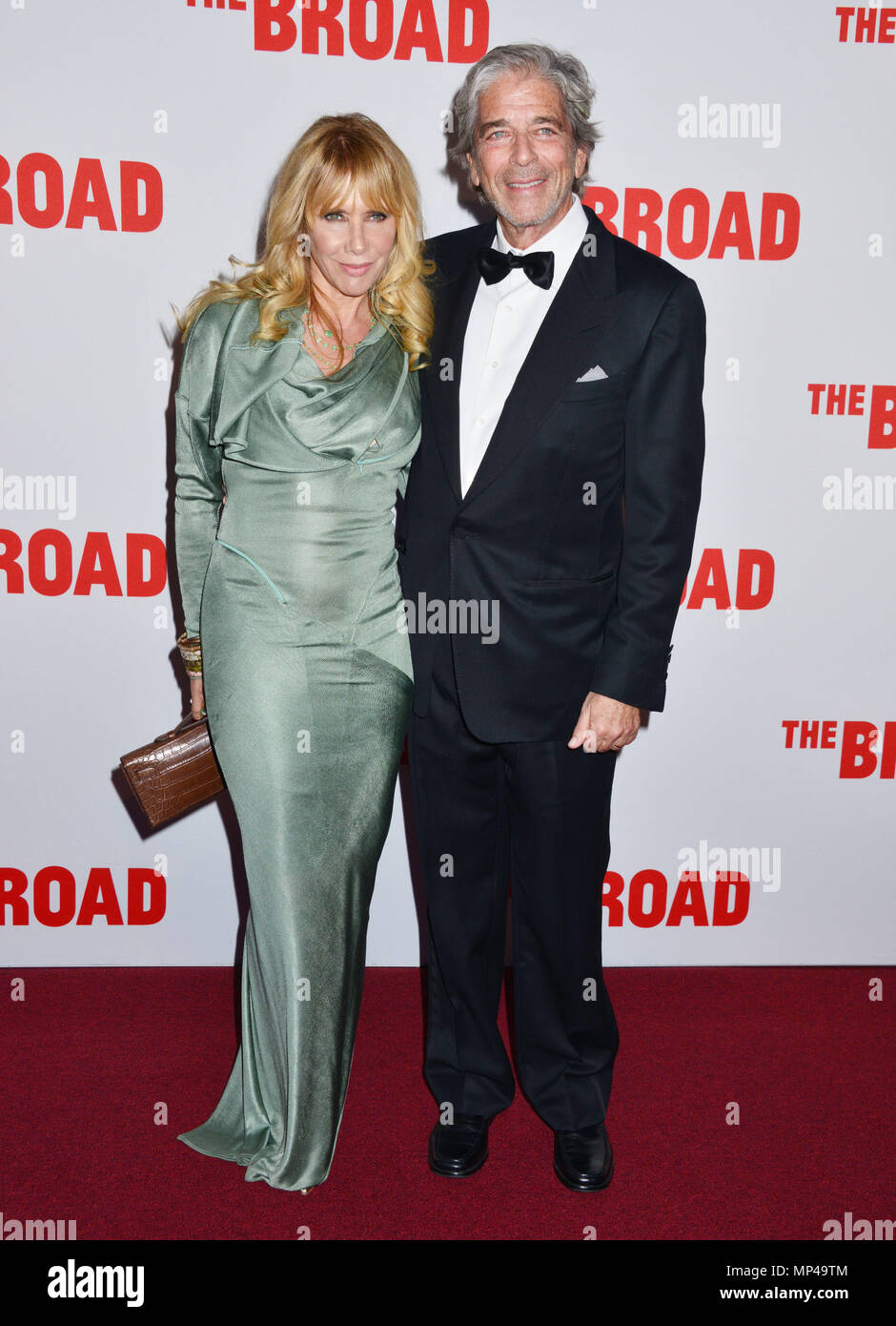 Rosanna Arquette 200 at The Broad Museum Opening and Inaugural Dinner at the Broad Museum in Los Angeles. September 17, 2015.Rosanna Arquette 200 ------------- Red Carpet Event, Vertical, USA, Film Industry, Celebrities,  Photography, Bestof, Arts Culture and Entertainment, Topix Celebrities fashion /  Vertical, Best of, Event in Hollywood Life - California,  Red Carpet and backstage, USA, Film Industry, Celebrities,  movie celebrities, TV celebrities, Music celebrities, Photography, Bestof, Arts Culture and Entertainment,  Topix, vertical,  family from from the year , 2015, inquiry tsuni@Gamm - Stock Image