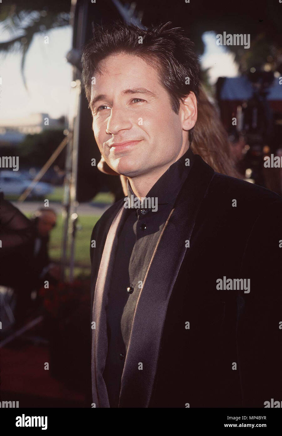 Duchovny, David ( X-Files )========== Duchovny, David ( X-Files )  Event in Hollywood Life - California, Red Carpet Event, Vertical, USA, Film Industry, Celebrities, Photography, Bestof, Arts Culture and Entertainment, Topix Celebrities fashion, Best of, Hollywood Life, Event in Hollywood Life - California, Red Carpet and backstage, movie celebrities, TV celebrities, Music celebrities, Topix, Headshot 1993 to 1999,  inquiry tsuni@Gamma-USA.com , Credit Tsuni / USA,  , vertical, one person, - Stock Image