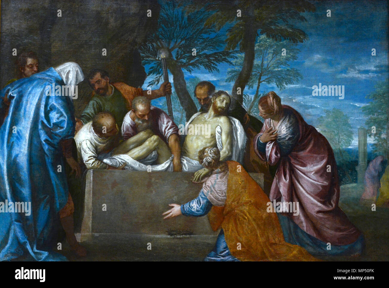 1246 Véronèse mise au tombeau Stock Photo