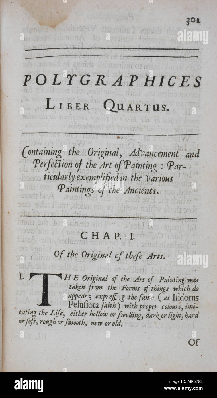 Title Page To Book 4 Polygraphices Liber Quartus