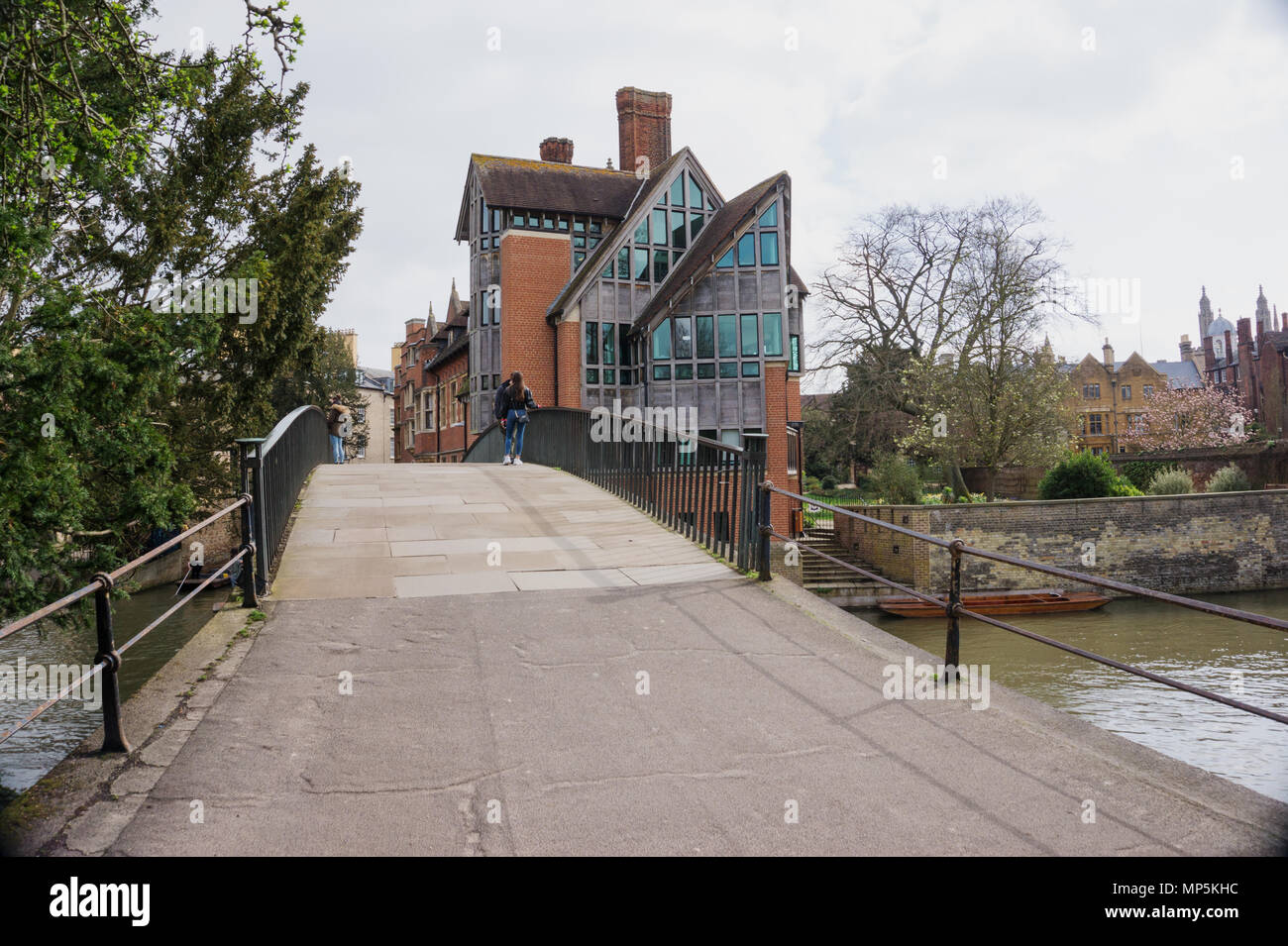 Jerwood Library at Trinity Hall, College, Cambridge, England, UK Stock Photo