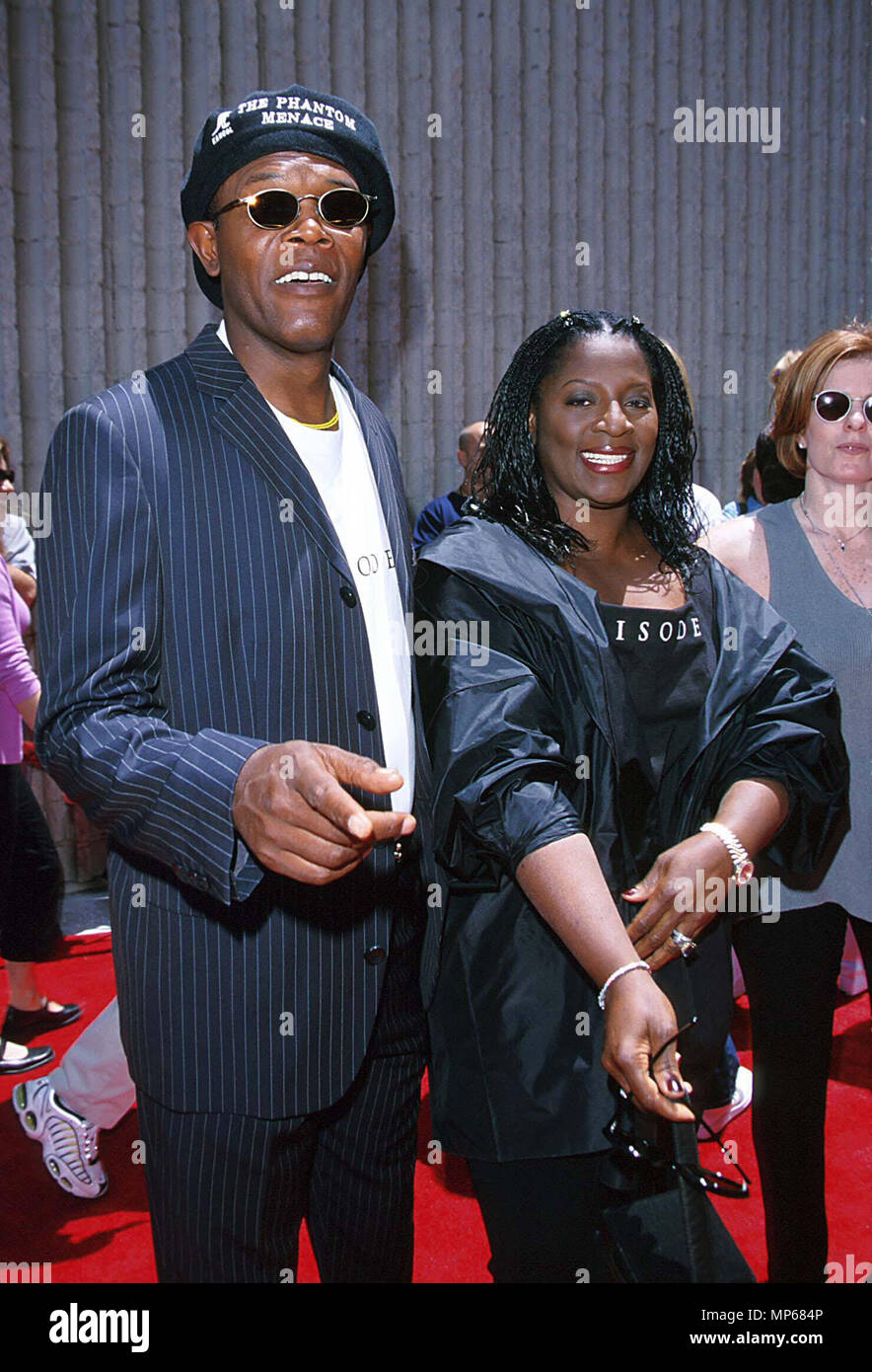 Samuel Jackson Daughter High Resolution Stock Photography And Images Alamy