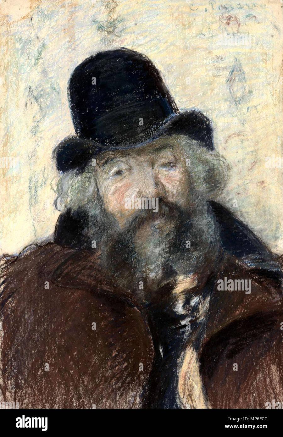 Ludovic Piette   circa 1875.   998 Piette by Pissarro - Stock Image