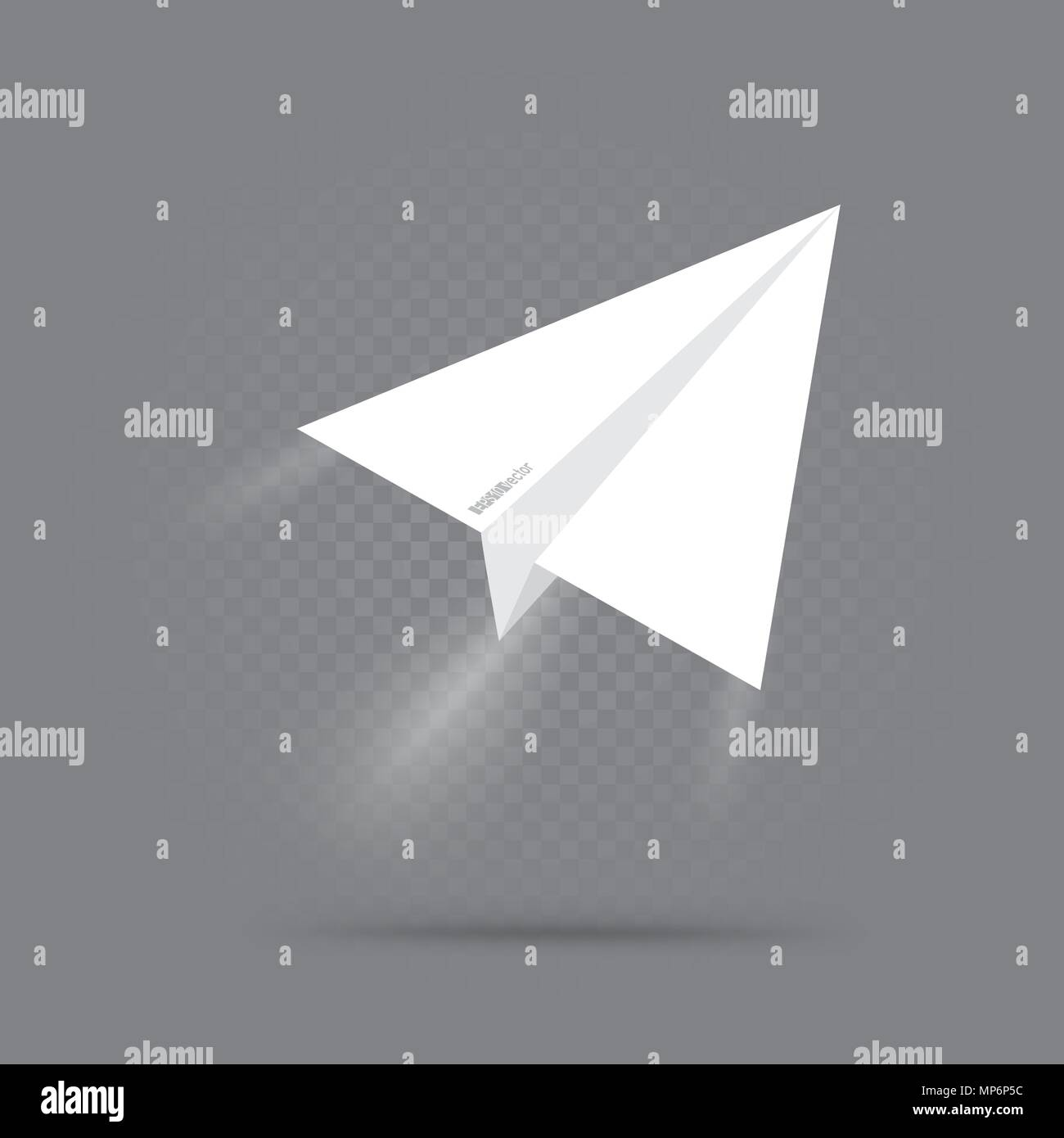 Paper Origami Plane Fly Up