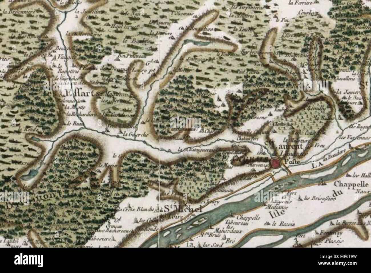 carte de cassini date Français : Langeais sur la carte de Cassini . 1760. César François