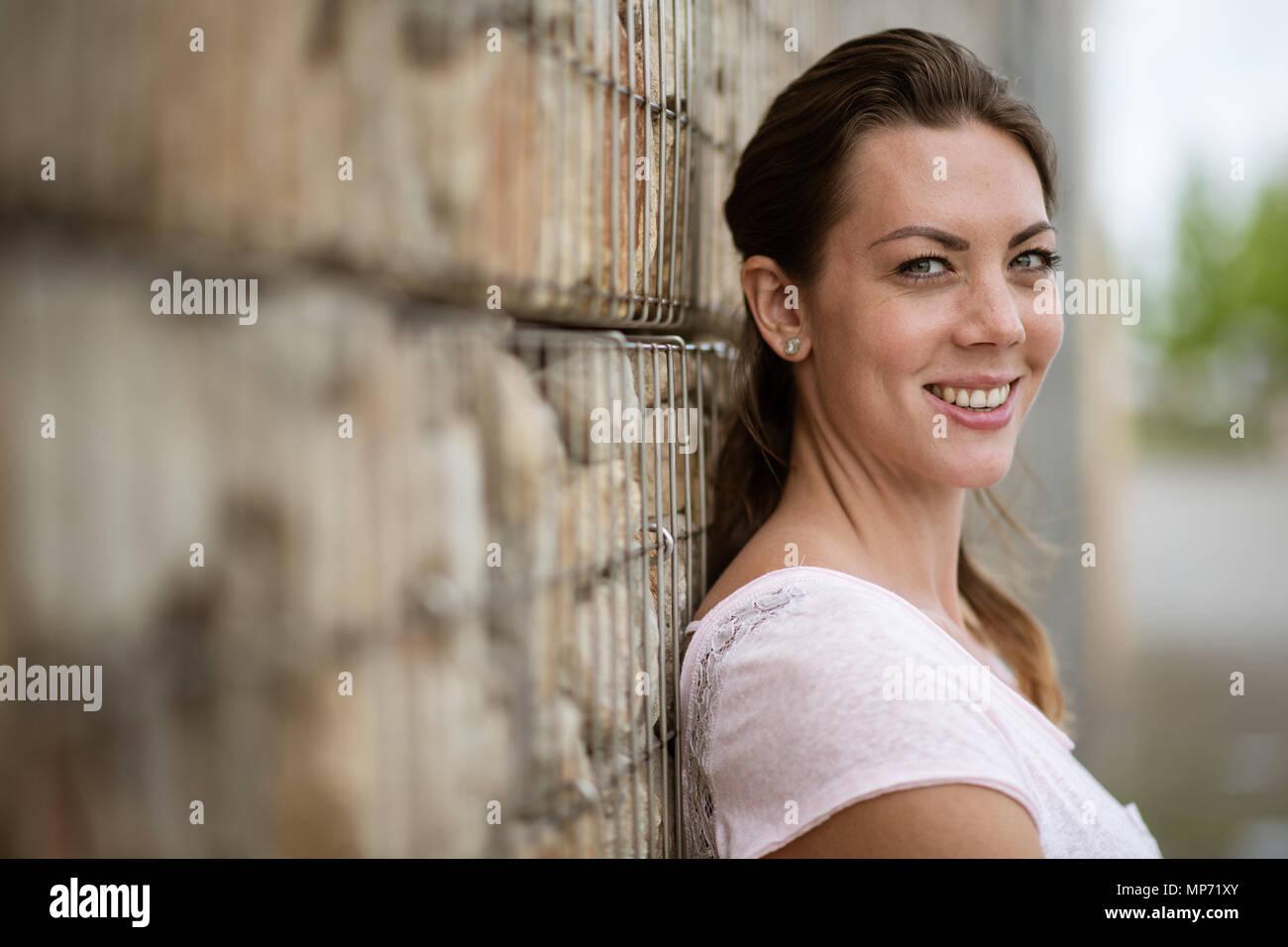 11 May 2018, Germany, Leverkusen: Pole-jumper Katharina Bauer of TSV Bayer 04 Leverkusen. Photo: Marius Becker/dpa - Stock Image