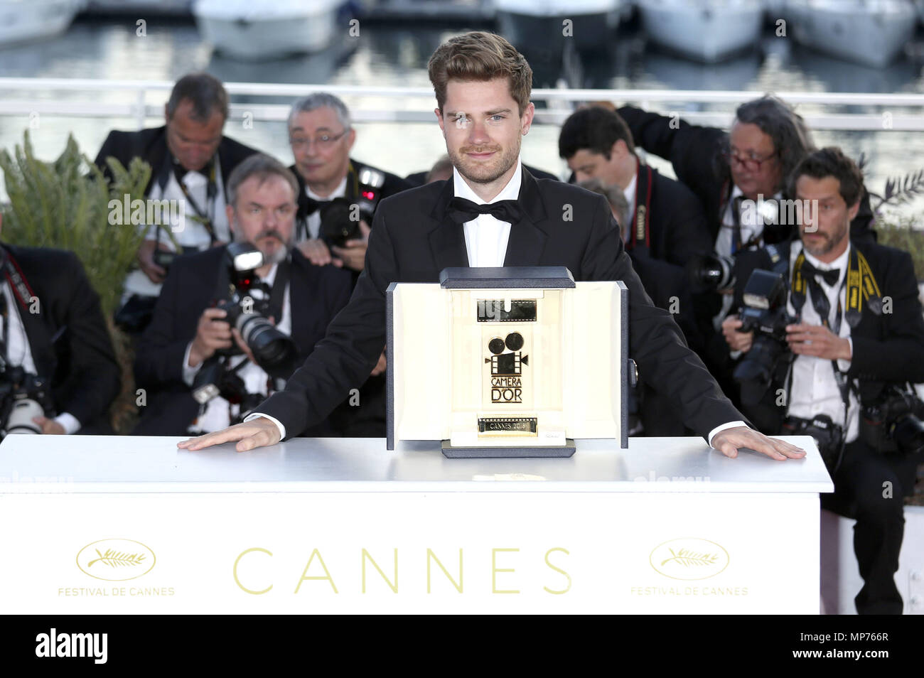 Cannes France 19th May 2018 Lukas Dhont At The Photocall With