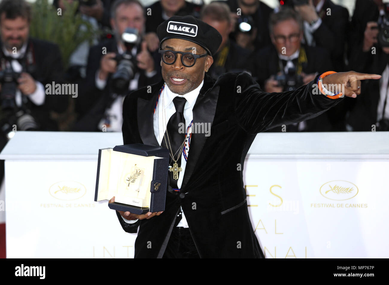 Cannes France 19th May 2018 Spike Lee At The Photocall With The