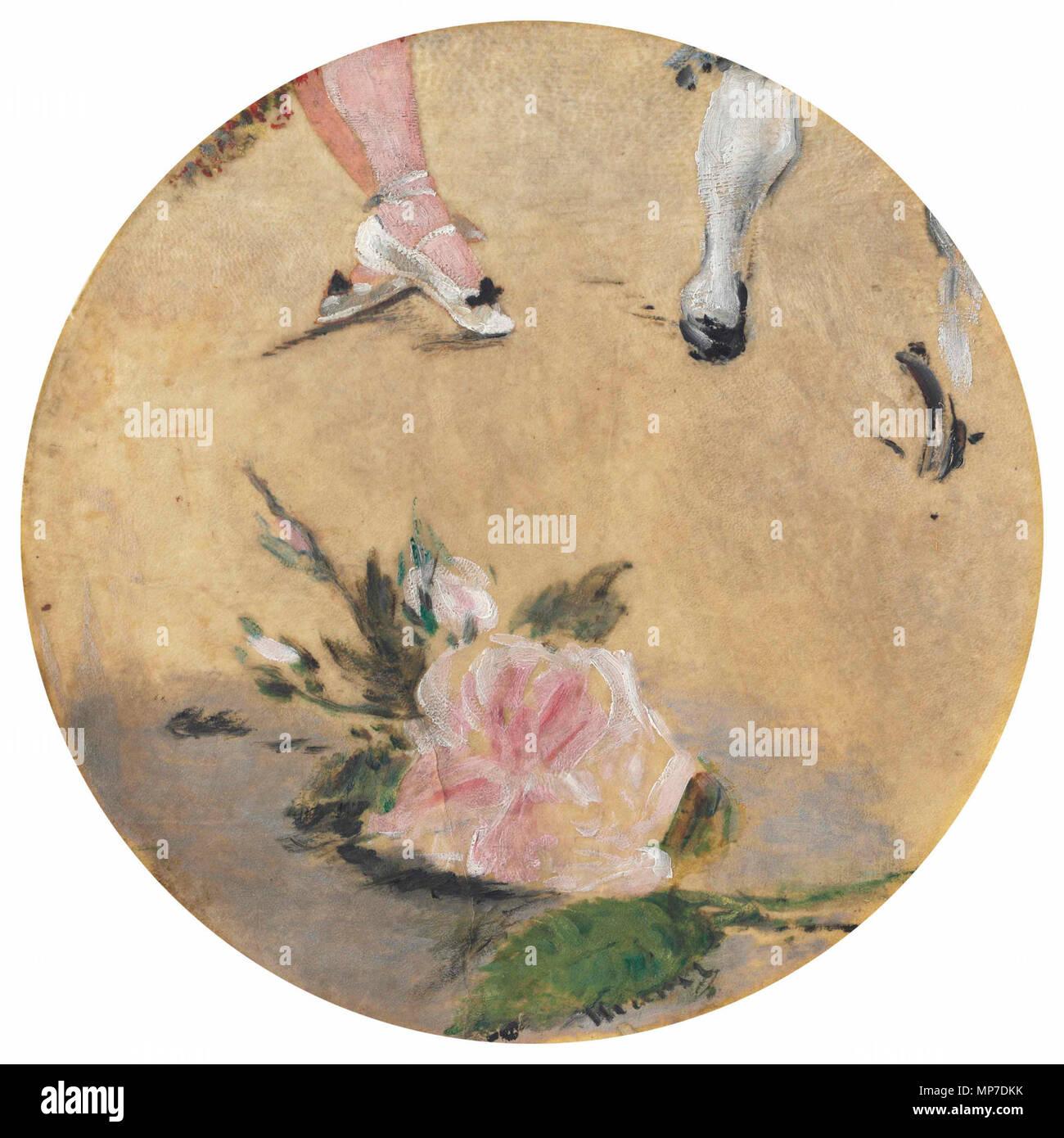 1288 Édouard Manet - Chaussons de danse (1879, RW 324) - Stock Image